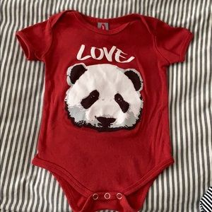 New Skool Panda Love Onesie
